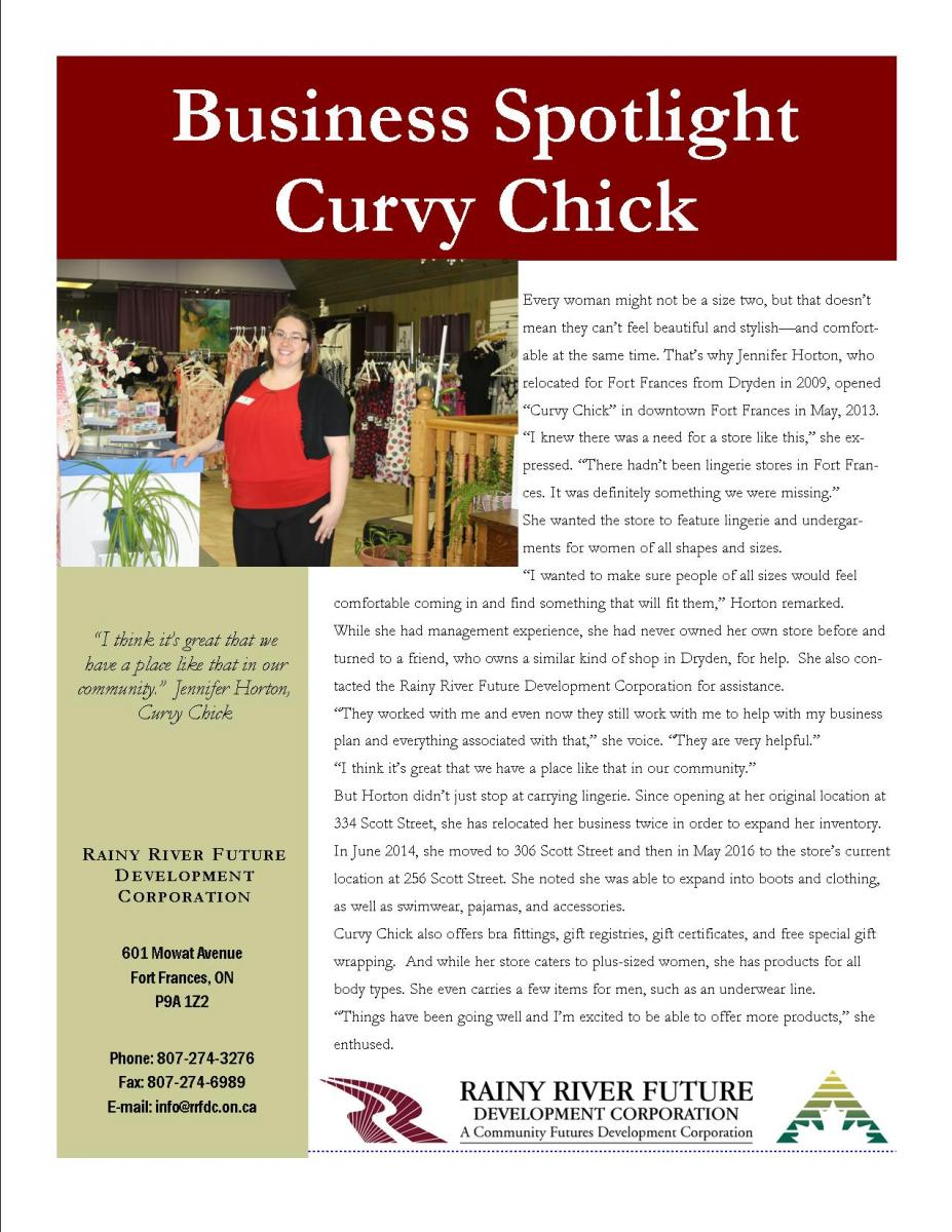 Curvy Chick success story