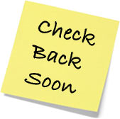 Please check back soon post-it note